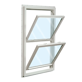 ReliaBilt 455 Series Vinyl Double Pane Single Strength New Construction Double Hung Window (Rough Opening: 32-in x 36-in Actual: 31.5-in x 35.5-in)