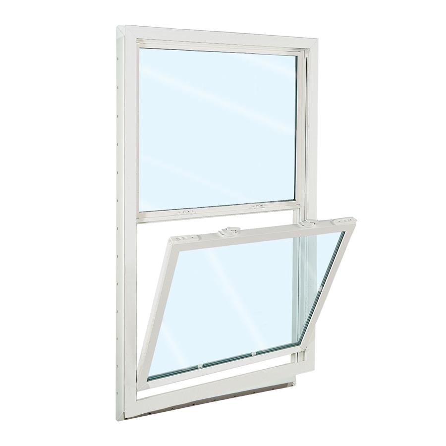 Shop reliabilt 3100 series vinyl double pane single for Double pane vinyl windows