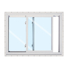 ReliaBilt 24-in x 24-in 150 Series Left-Operable Vinyl Double Pane New Construction Sliding Window