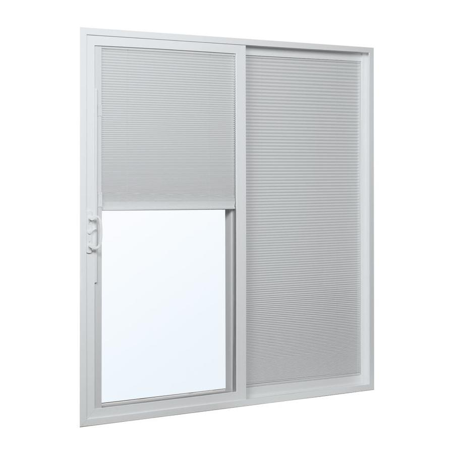 ... .75-in Blinds Between the Glass Vinyl Sliding Patio Door at Lowes.com