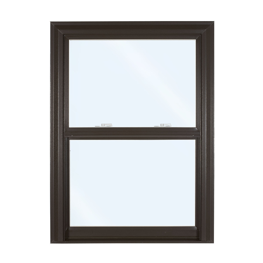 Shop reliabilt 32 in x 3500 series vinyl double for Double hung replacement windows reviews