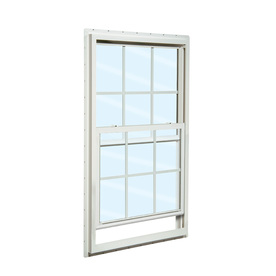 ReliaBilt 105 Series Vinyl Double Pane Single Strength New Construction Single Hung Window (Rough Opening: 36-in x 48-in; Actual: 35.5-in x 47.5-in)