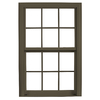 ReliaBilt 3900 Series Vinyl Triple Pane Single Strength Replacement Double Hung Window (Rough Opening: 36-in x 37.75-in Actual: 35.75-in x 37.5-in)