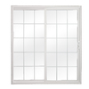 ReliaBilt 312 Series 70.75-in Dual-Pane Grilles Between The Glass Vinyl Sliding Patio Door