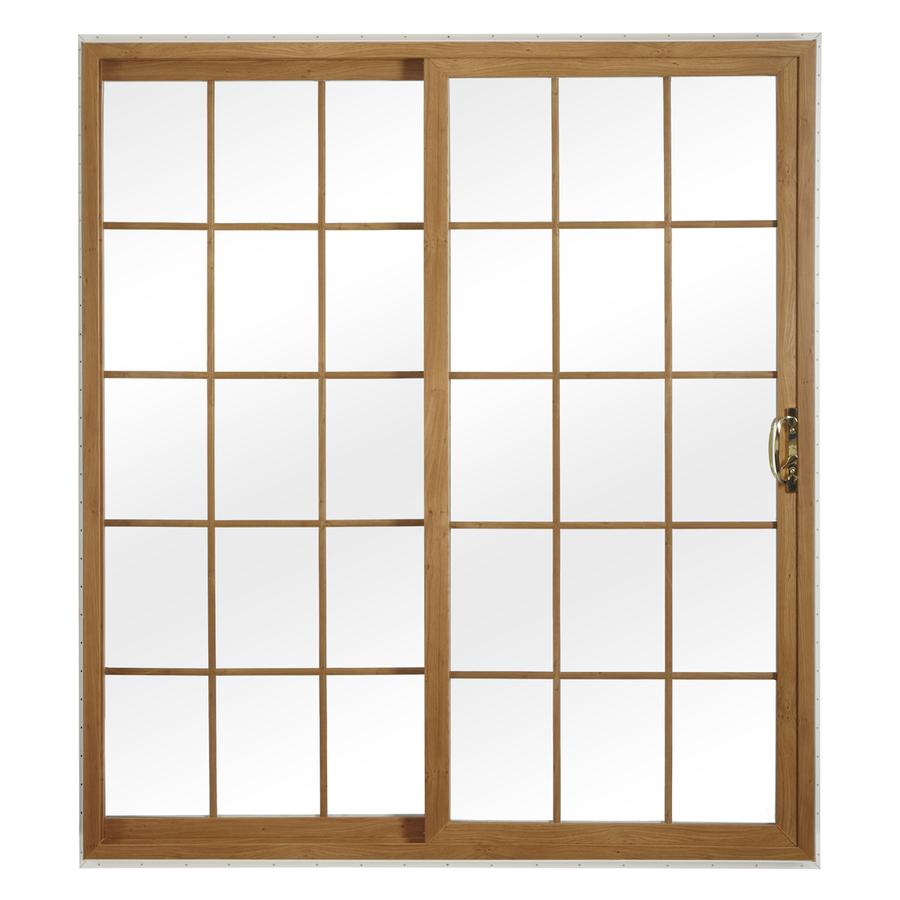 Shop reliabilt 312 series grilles between the for Vinyl patio doors