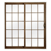 ReliaBilt 312 Series 70.75-in Low-E Argon Grilles Between The Glass Vinyl Sliding Patio Door