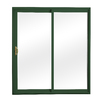 ReliaBilt 300 Series 58.75-in Low-E Insulating Clear Vinyl Sliding Patio Door