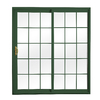 ReliaBilt 300 Series 70-3/4-in Low-E Insulating Grilles Between The Glass Vinyl Sliding Patio Door