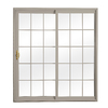 ReliaBilt 300 Series 70.75-in Low-E Insulating Grilles Between The Glass Vinyl Sliding Patio Door