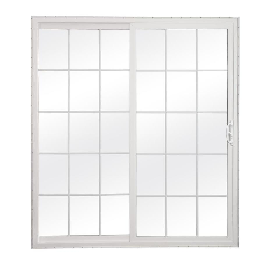 Shop reliabilt 300 series grilles between the Glass sliding doors