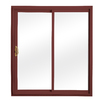 ReliaBilt 332 Series 70.75-in Low-E Insulating Clear Vinyl Sliding Patio Door