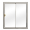 ReliaBilt 332 Series 5-ft 10-1/2-in-in Low-E Insulating Clear Vinyl Sliding Patio Door