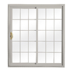 ReliaBilt 332 Series 70.75-in Low-E Insulating Grilles Between The Glass Vinyl Sliding Patio Door