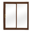ReliaBilt 332 Series 58.75-in Low-E Insulating Clear Vinyl Sliding Patio Door