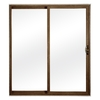 ReliaBilt 300 Series 72-in Low-E Insulating Clear Vinyl Sliding Patio Door