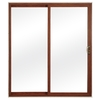 ReliaBilt 300 Series 6-ft 7-3/4-in-in Low-E Insulating Clear Vinyl Sliding Patio Door