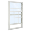 ReliaBilt 85 Series Aluminum Double Pane Single Strength New Construction Single Hung Window (Rough Opening: 36-in x 36-in; Actual: 35.5-in x 35.5-in)
