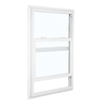 ReliaBilt 105 Series Vinyl Double Pane Single Strength New Construction Single Hung Window (Rough Opening: 28-in x 54-in; Actual: 27.5-in x 53.5-in)