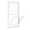 ReliaBilt 150 Series Vinyl Double Pane Single Strength New Construction Single Hung Window (Rough Opening: 28-in x 54-in; Actual: 27.5-in x 53.5-in)