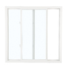 ReliaBilt 3050 Series Left-Operable Vinyl Double Pane Single Strength Replacement Sliding Window (Rough Opening: 24-in x 24-in; Actual: 23.75-in x 23.75-in)