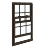 ReliaBilt 85 Series Aluminum Double Pane Single Strength New Construction Single Hung Window (Rough Opening: 32-in x 36-in; Actual: 31.5-in x 35.5-in)