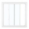 ReliaBilt 105 Series Left-Operable Vinyl Double Pane Single Strength New Construction Sliding Window (Rough Opening: 36-in x 36-in; Actual: 35.5-in x 35.5-in)