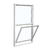 ReliaBilt 3100 Series Vinyl Double Pane Single Strength Replacement Single Hung Window (Rough Opening: 36-in x 46-in; Actual: 35.75-in x 45.75-in)