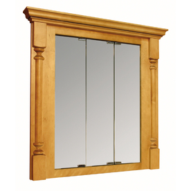Recessed medicine cabinet sliding doors in Bath Accessories