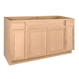 lowe 39 s 60 unfinished sink base cabinet customer reviews product