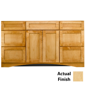 Cottage Bathroom Vanities on Cottage 60 In X 18 7 8 In Natural Casual Bathroom Vanity At Lowes Com