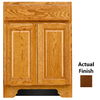 KraftMaid Traditional Cognac Traditional Bathroom Vanity (Common: 24-in x 18-in; Actual: 24-in x 18-in)