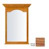 KraftMaid 25.44-in W x 40.75-in H Fawn Rectangular Bathroom Mirror