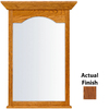 KraftMaid 25.44-in W x 40.75-in H Autumn Blush Rectangular Bathroom Mirror