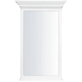 KraftMaid 25.44-in W x 40.75-in H White Rectangular Bathroom Mirror
