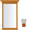 KraftMaid 40-3/4-in H x 25-1/2-in W Traditional Collection Autumn Blush Rectangular Bathroom Mirror
