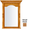 KraftMaid 28.95-in W x 37.05-in H Fawn Rectangular Bathroom Mirror