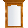 KraftMaid 37-in H x 29-in W Classic Collection Honey Spice Rectangular Bathroom Mirror