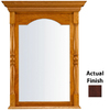 KraftMaid 37-in H x 29-in W Classic Collection Kaffe Rectangular Bathroom Mirror
