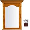 KraftMaid 28.95-in W x 37.05-in H Kaffe Rectangular Bathroom Mirror