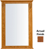 KraftMaid 37-1/2-in H x 25-1/4-in W Formal Collection Autumn Blush Rectangular Bathroom Mirror