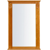 KraftMaid 37-1/2-in H x 25-1/4-in W Formal Collection Honey Spice Rectangular Bathroom Mirror