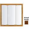 KraftMaid 23-3/4-in Dark Surface Mount and Recessed Medicine Cabinet