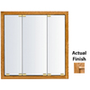 KraftMaid 35-3/4-in Light Surface Mount and Recessed Medicine Cabinet