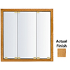 KraftMaid 35-3/4-in Medium Surface Mount and Recessed Medicine Cabinet