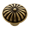 KraftMaid Antique Brass French Rays Knob