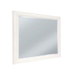 shop woodgate select 36 in h x 48 in w bathroom mirror at