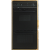 Maytag 24-in Self-Cleaning Double Electric Wall Oven (Black)