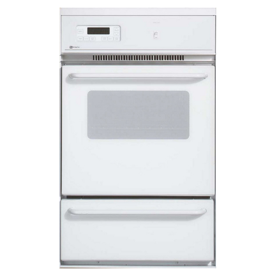 Shop Maytag Single Gas Wall Oven White At