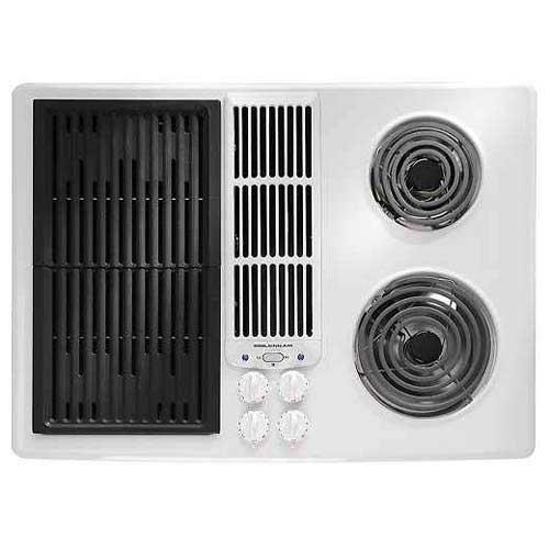 30 Inch Downdraft Electric Cooktop ~ Shop jenn air inch electric downdraft modular cooktop