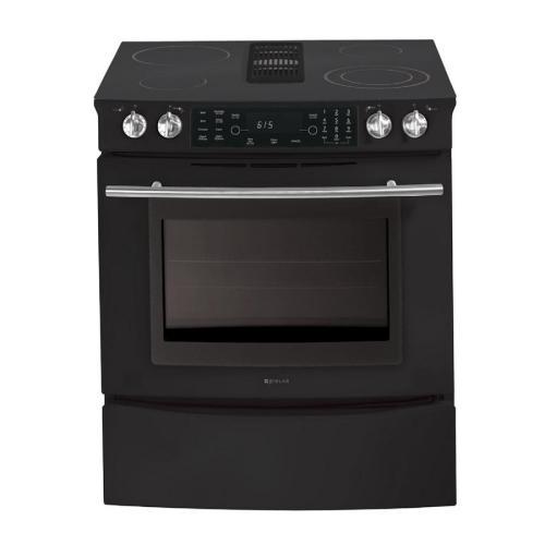 30 inch downdraft electric slide in range color black at lowes. Black Bedroom Furniture Sets. Home Design Ideas